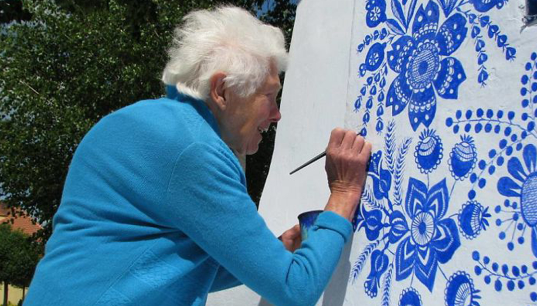 This granny turns her beautiful Czech village into an art hub