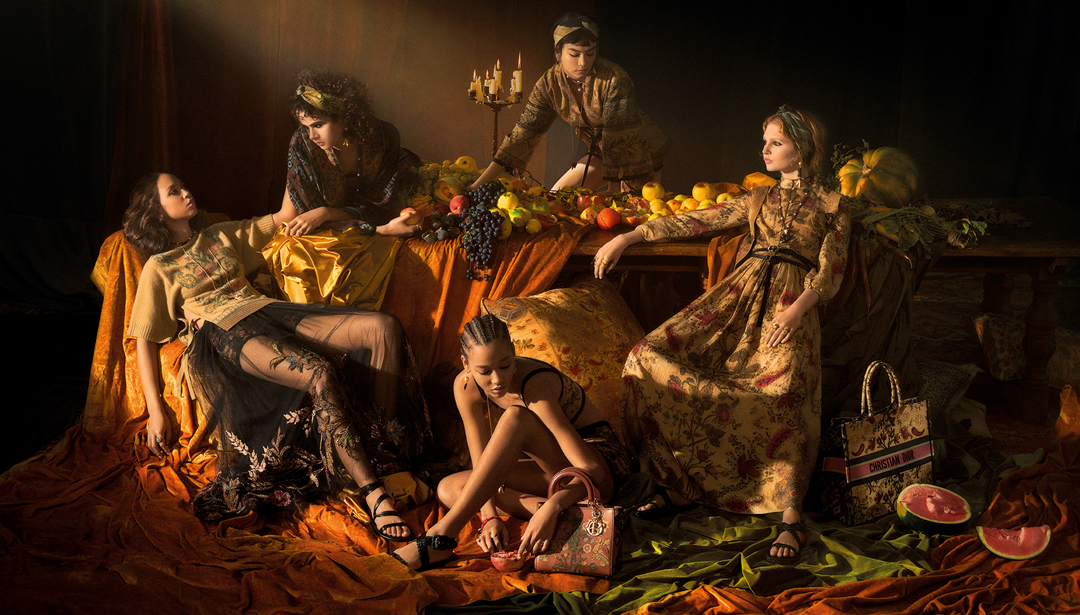 Dior Channels Caravaggio Vibes for latest SS2021 Campaign