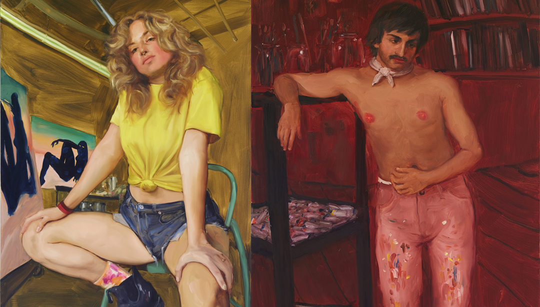 Jenna Gribbon And Her Intimate Paintings Of Your Favourite Artists