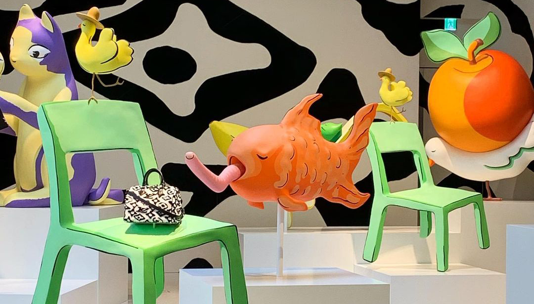 Urs Fischer Gives Global Louis Vuitton Stores A Bright Makeover