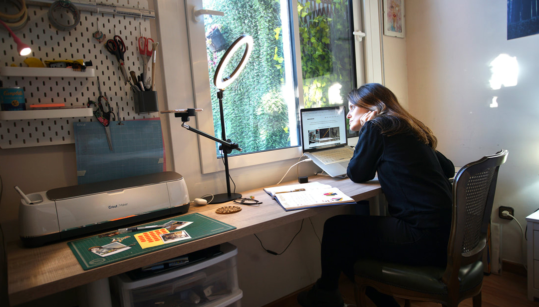 How to set up your perfect artist work space