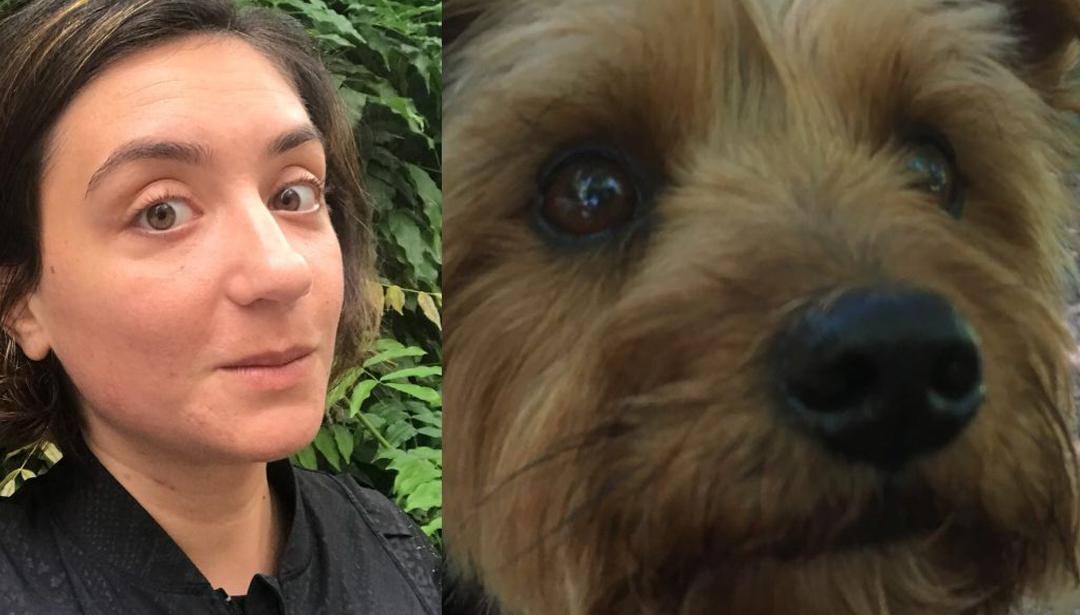Art Pawty: Meet Huma Kabakci And Her Pup Sherlock