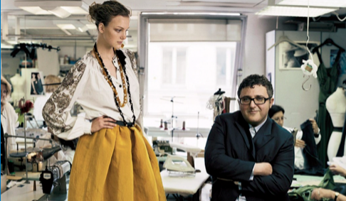 Alber Elbaz's Connection To The Art World