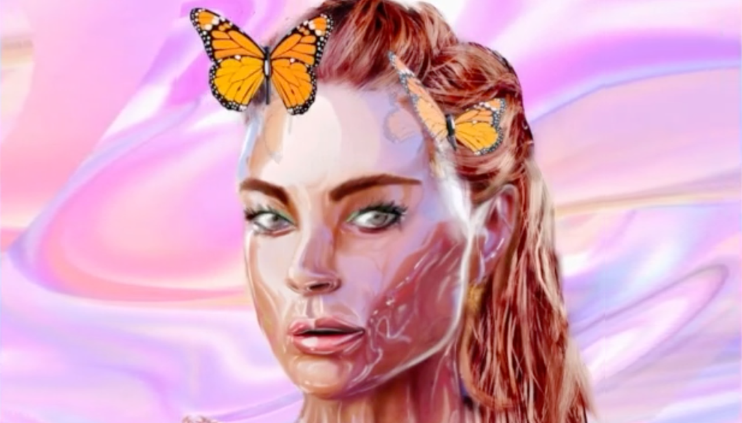 Lindsay Lohan's Connection To The Art World