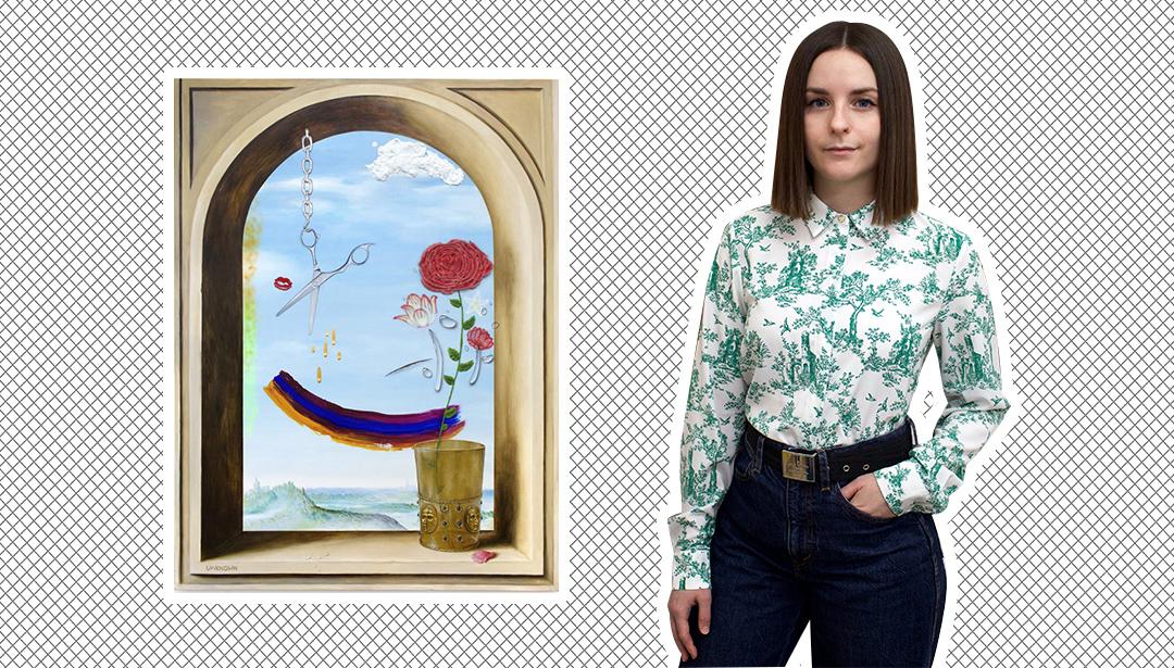 Katelyn Ledford - an artist who describes her art as tart, pseudo + thwart