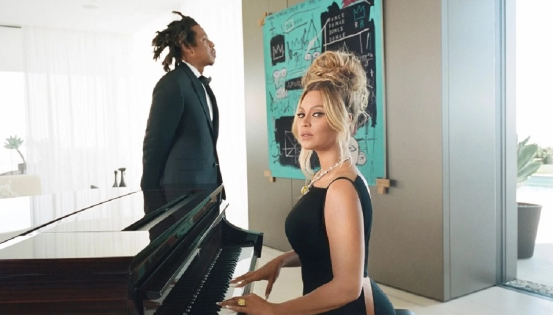 Beyoncé, Jay Z & Basquiat feature in the new Tiffany & Co 'Modern Love' campaign